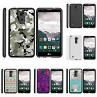 For LG Stylus 2 | Stylo 2| Slim Fit Hard Case + Image Decal Swamp Camouflage