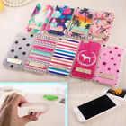 2x iPhone 5, 5s Bumper Edge Side Body Button Glitter Bling Luxury Sticker Skin