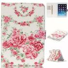 samsung galaxy tab 10.1 for sale - Hot Sale Rose Flower pattern Flip Leather Stand Case Cover For Various tablet