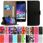 Case For LG K4 K8 K10 2017 Luxury Magnetic Flip Wallet Leather Cover Stand New