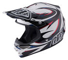 NEW 2017 TROY LEE DESIGNS TLD AIR VORTEX MX OFFROAD HELMET WHITE ALL SIZES