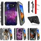 For Samsung Galaxy S7 Active G891A Rugged Holster Clip Stand Case Heavenly Stars