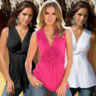 Sexy Women Summer Vest Knot Sleeveless Blouse Fashion Casual Tops T-Shirt New RD