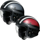 Shoie J.O. Hawker Open Face Motorbike Motorcycle Crash Cruiser Graphic Helmet