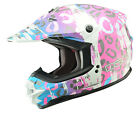 GMAX GM76 Divas SnowGear DSG Helmet Leopard Multicolor - 7 Sizes