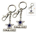 (2pcs ) - NFL 3-D ( ZAMAC ) Keychain / Pick Your Team on eBay