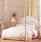 Stainless Steel Mosquito Netting Canopies Frame/Post Twin Full Queen King Size image