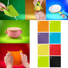 SILICONE TRIVET MAT HEAT RESISTANT PAN HOLDER IRON STRAIGHTENER COLOURS HT