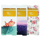 LUCAX Carton Case Window Flip PU Leather Wallet Etui Cover For Sony Xperia Z4