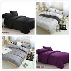 Black New 100%Cotton Queen Bed Linen Quilt/Duvet/Doona Covers Set AU Size