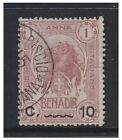 Somalia - 1907, 10c on 1a stamp - F/U - SG 12