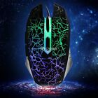 4000DPI 6 Buttons LED USB Wired Lighting Gaming Mouse Mice PC Laptop Gamer DZ88