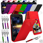 8 Colours Leather Flip Mobile Phone Case Cover For Vodafone Smart 4 Turbo