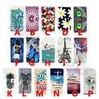 Classical Beautiful Faux Leather Stand Card Tide Case Cover For Smart Phones #B2