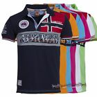 Polo GEOGRAPHICAL NORWAY Uomo Men Anapurna Kyer Homme Cotone Piquet