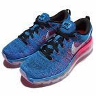Wmns Nike Flyknit Max Blue Pink Womens Running Shoes Air Max 360 620659-014