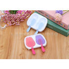 New Pop Popsicle Mold Tray Pan Kitchen Frozen 2 Cell Lolly Mould Ice Cream Maker