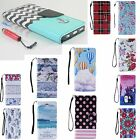 For Apple iPhone 6S 6 Plus 5s 5c Magnetic Flip Cover Stand Wallet Leather Case