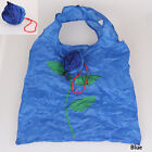 1PC Hot Chic Rose Flowers Reusable Folding Shopping Bag Travel Grocery Bags Tote