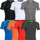 25% OFF* Under Armour Hommes HeatGear Armourvent Compression SS Top Baselayer