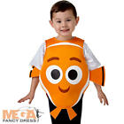 Finding Nemo 2-6 Years Kids Fancy Dress Fish Disney Childrens Boys Girls Costume