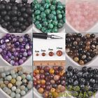 Wholesale Lots Natural Stone Gemstone Round Spacer Loose Beads 4mm 6mm 8mm 10mm