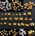Lot Wholesale 4~12mm Tibetan Charm Metal Copper Loose Spacer Beads Free Postage