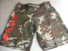 RAGS COMPETITOR CAMO GREEN BOARD SHORT FIGHT SHORT  BJJ FIGHT  VALE TUDO  S-XXL
