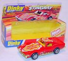 Dinky Toys 1:43 CHEVROLET CORVETTE STINGRAY Customised Model Car 206 MIB`79 RARE