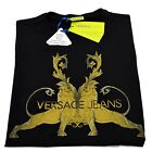 T-shirt Gianni Versace Jeans Men Italy Fashion T-shirt Mens Jersey Cotton Nwt