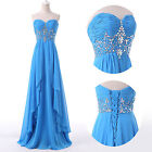 Grace Karin Sexy Long Formal Wedding Gown Prom Bridesmaids Cocktail Party Dress