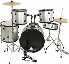 Latest COMPLETE 5 Piece ALL-IN-ONE ADULT DRUM SET CYMBALS FULL SIZE US Stock