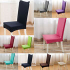 1/2/4/6/8 Pcs Washable Chair Covers For Wedding Party Restaurant Banquet Decor