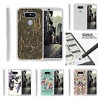 For LG G5 Case Slim Fitted Flexible TPU Cover Butterfly Flowers