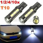 1/2/4/10x T10 501 W5W 5630 14SMD LED Bulb Car Wedge Side Light Lamp Canbus White