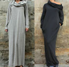 2017 Hot Sale Off Shoulder Hooded Long Sleeves Maxi Full Dress Party Cocktail c1