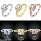 GIFT Charm Auger Ring With Crystal Rhinestone Fashion Women Jewelry Size 8