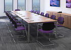 Sven 4.5 x 1.2 Metre Boardroom, Conference, Meeting Room Table - Finish Choice