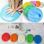 1 Package/50g Air Drying Soft Clay Baby Handprint Footprint Imprint Kit Casting