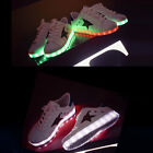 Fashion Cool Fantastic LED Style Luminous Lovers Athletic Sandals Shoes White