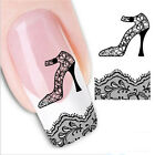 3D Nail Decoration Nail Art Sticker Water Transfer Stickers Flower Decals Tips