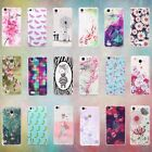 3D Flower Patterned Soft Rubber TPU Skin Back Case Cover for Xiaomi