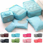 Travel - 6PCS Waterproof Clothes Travel Storage Bags Packing Cube Luggage Organizer Pouch