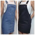 Women`s New BERSHKA Denim Tunic Dress with Belt UK Size 8-10-12-14-16 Blouse Top