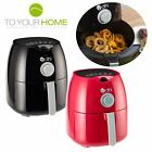 Dihl 4L Dial Air Fryer Rapid Healthy Cooker Oven Low Fat Free Food Frying