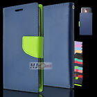 For HTC One M9 Leather PU WALLET POUCH 2Colors