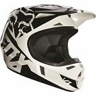 14400-001 Fox Helmet V1 Black Race Adult Small Motorcycle MX ATV  Helmet