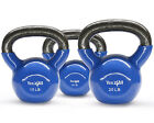 Yes4All Cast Iron Kettlebell Vinyl Coated Set 5 10 15 20 25 30