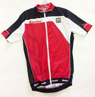 65 Short Sleeve Cycling Jersey - in Red - Made in Italy by Santini