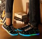 Fuorescence Luminous Unisex Low-top Flashing Sneakers Colors Sports Casual Shoes